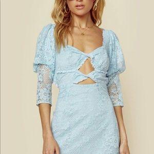 For Love and Lemons Lyla Mini Dress XS NWT
